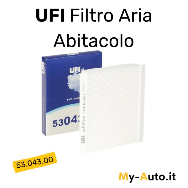 filtro aria abitacolo UFI cod 53.043.00